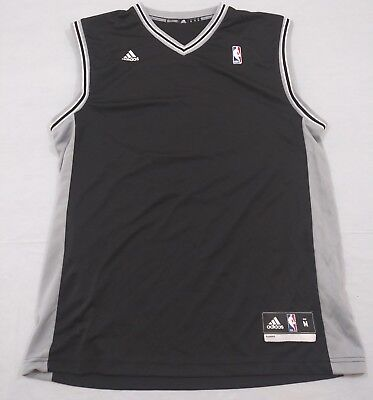 M4 New Flawed ADIDAS San Antonio Spurs Manu Ginobili Black Jersey MEN S  Medium 5eabb86d0