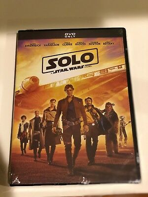 Solo: A Star Wars Story (DVD 2018)Brand New-Action USA SELLER 2-3 DAY SHIPPING