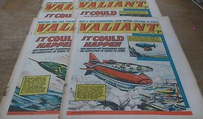 4 Valiant Comics 1966