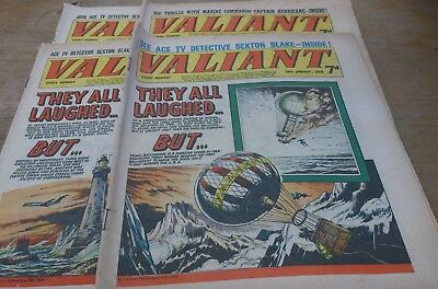 4 Valiant Comics 1968,