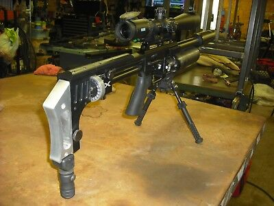 FX IMPACT AIRGUN Butt Plate/ADJUSTABLE MONOPOD assembly  Ships US