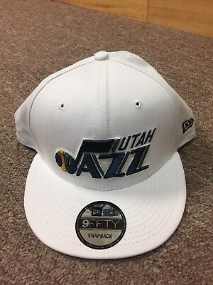 f1860cda980 ... best utah jazz new era 9fifty nba adjustable snapback hat cap flat brim  navy 950 ae2ab