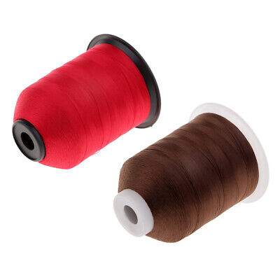 Prettyia 2000m Strong DIY Nylon Rod Building Wrapping Whipping Thread White
