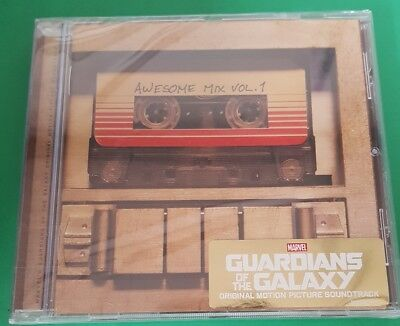 Guardians Of The Galaxy: Awesome Mix Vol 1 Motion Picture Film Soundtrack Cd New