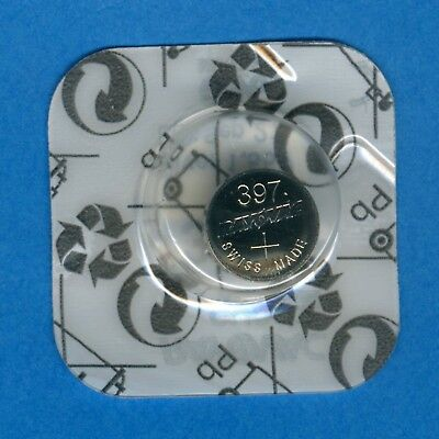 397 ( 396 ) SR726SW V397 D397 SR59 1.55V Silver Oxide Watch Battery Rayovac
