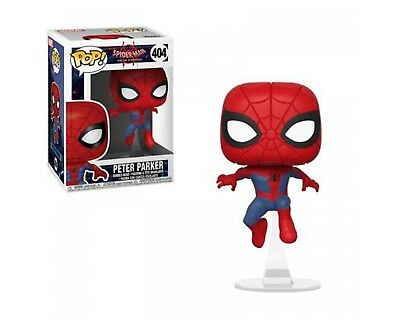 Peter Parker #404 Funko Pop! Figure- Into The Spider - Verse Film Series - New