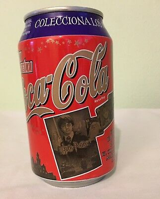 Coca Cola Sin Cafeina Harry Potter 2002 Can From Spain Colecciona Los Magicos 1