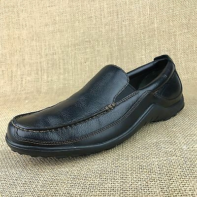 268483bb2bc MINT Cole Haan Tucker Venetian US 7 M Black Leather Men s Dress Loafers  Slip On