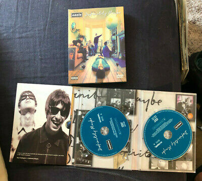 Oasis - Promo Copies Of Definitely Maybe & Lord Dont Slow Me Down Dvd Boxset