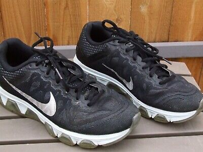 4198dea351 NIKE AIR MAX Tailwind 7 Women Black Silver Sneakers Athletic RUNNING Shoes  8.5 M