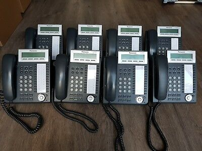 Joblot 8x Panasonic KX-NT343NE Phones