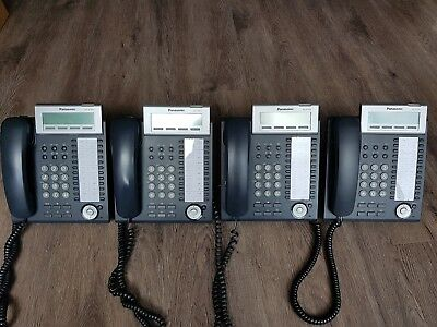 Joblot 4x Panasonic KX-NT343NE Phones
