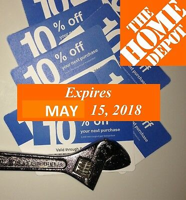 20 Not Lowes 10% Blue Cards for Home Depot only Expires 11/15/2019 NOVEMBER