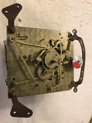 Revere Electric Clock Movement For Parts Or Re No Motor