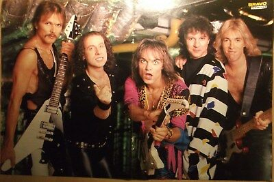 1 GERMAN POSTER SCORPIONS MEINE SCHENKER ROCK POP BOY BAND