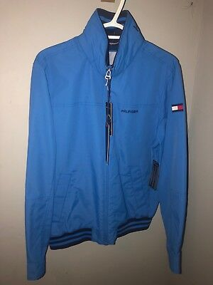 066d31c48edab6 New Tommy Hilfiger Mens Yacht Jacket Windbreaker All Sizes Water Resistant  NWT