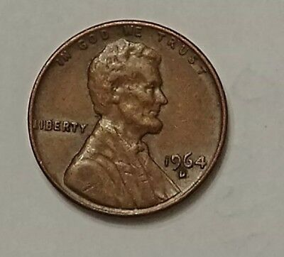1964-D #2 Lincoln Memorial Cent Penny Coin, you grade condition (see photos)