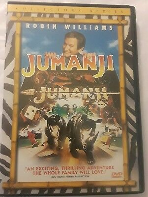 Jumanji Collector's Series DVD Family Movie Robin Williams
