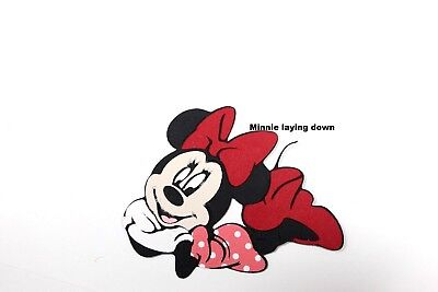 DISNEY MINNE MOUSE Paper Piecing Scrapbook Border  Premade Die Cut Character