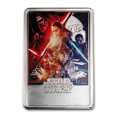 Niue -2019- Silver $2 Proof Coin- 1 OZ Star Wars: The Force Awakens