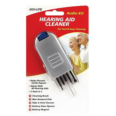 ACU-LIFE Hearing Aid Cleaner - Cleaning Tool