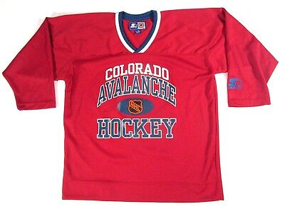 pretty nice e1905 d34ba COLORADO AVALANCHE YOUTH Jersey Pro Player 90's Embroidered ...
