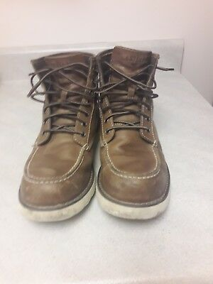 ad7387ee0c7 MEN'S EASTLAND LUMBER Up Boots Classic 6'' Peanut Tan Moc Toe Lace Up size 9