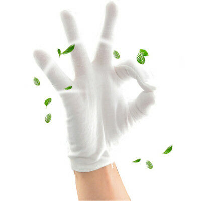 6 Pair Manicure Gloves Hand Protective Working Cotton Blends Sweat-proof Serving