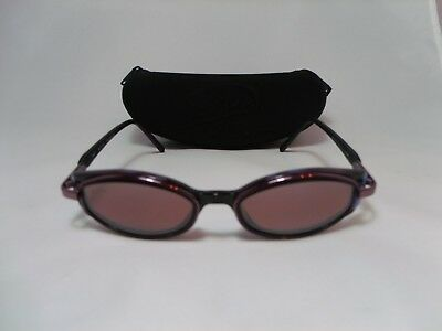 b355dffbb3 MAUI JIM MJ-124-13 Hana Purple Wine w Rose Lenses Women s Sunglasses ...