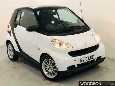 2010 Smart ForTwo Diesel Automatic in WHITE - 2 Previous Owners