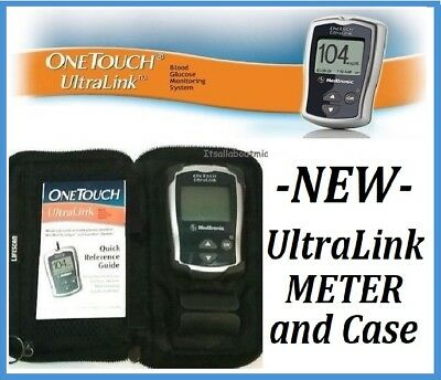 BRAND NEW LIFESCAN Medtronic OneTouch UltraLink Glucose Meter Monitor