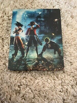 JUMP FORCE COLLECTOR'S EDITION ps4 xbox one steel book only no game