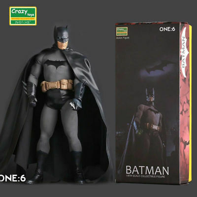 1/6Th Scale Dc Comics Classic Batman Pvc Collectible Crazy Toys Action Figure