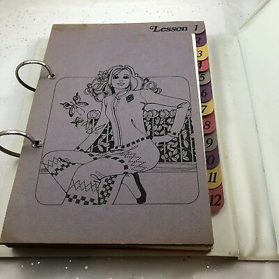 Brother Original Tuition Manual Book 800 for Knitting Machine