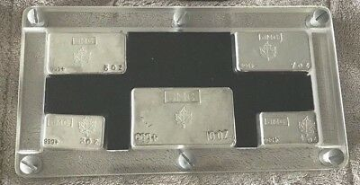 J&m Jmc Johnson Matthey Silver Bullion Bar Set 3, 4, 5, 7, 10, Troy Oz Rare <250