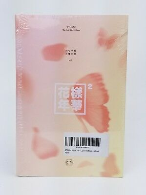 BTS 4th Mini Album [In The Mood For Love] PT.2 Peach Ver. CD+Photobook+Photocard
