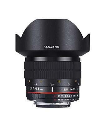 NEW SAMYANG single focus wide angle lens 14 mm F 2.8 full size for Canon EF