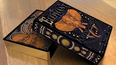 Limited Edition Elephant Playing Cards (Night) Deck Brand New