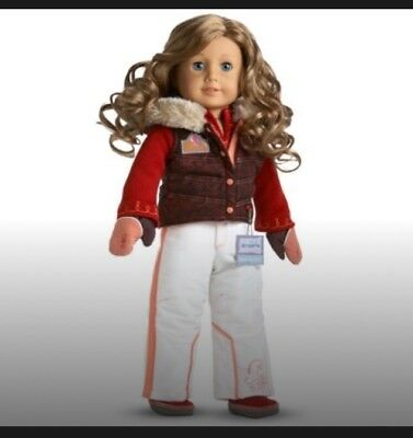 c65cc9ccd1 American Girl Nicki s SKI WEAR OUTFIT NO DOLL NIB Brand New Retired Complete