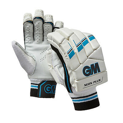 Gunn & Moore 2018 Neon Plus Batteur Cricket Gant Protection Blanc/Bleu