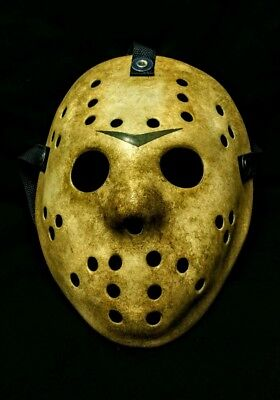 Custom Jason Voorhees Friday The 13TH Concept With Blue Chevron Hockey Mask