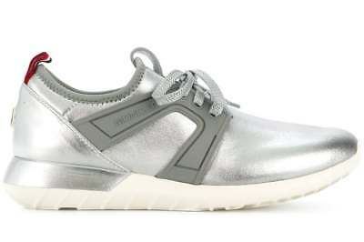 nuovo stile 37cf4 c13a9 MONCLER SCARPE DONNA Meline Logo Sneakers Made In Italy 2021000019Ln