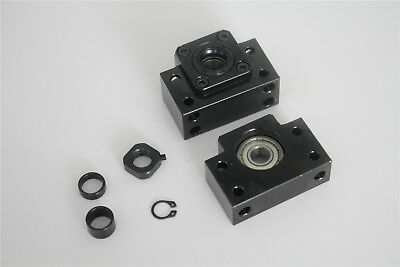 1SET BK10 BF10 Ball Screw End Support Bearing Mount For CNC SFU1204