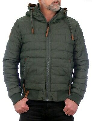 Naketano Jacke Prometheus Steppjacke dark green