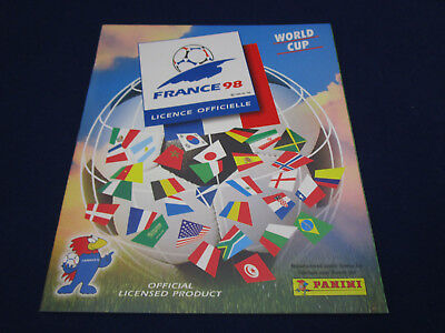 Panini WM WC WK 1998 France 98,Leeralbum/empty album, Jamaica version MINT