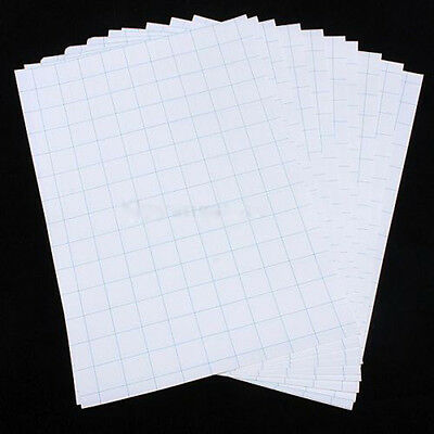 10PC A4 Iron On Inkjet Print Heat Transfer Paper Set For Fabric T-Shirt UK Stock