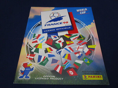 Panini WM WC WK 1998 France 98,Leeralbum/empty album, Slovenia version MINT