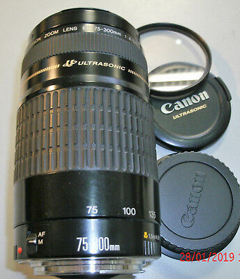 Canon Zoom Lens EF 75-300mm 1:4-5.6 Objektiv Ultrasonic