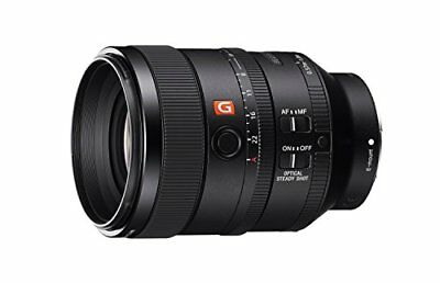 NEW SONY single focus lens FE 100 mm F 2. 8 STF GM OSS E mount 35 mm full size c