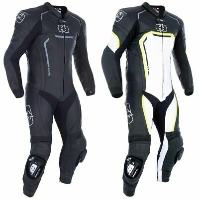 Oxford Stradale One Piece Leather Racing Motorcycle Suit Track Performance